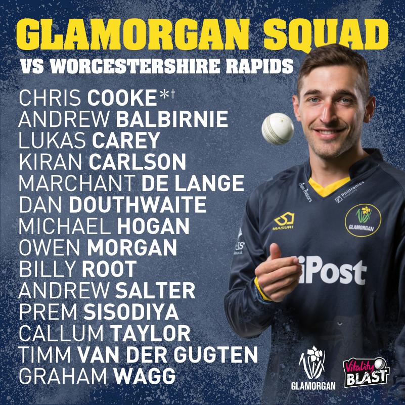 Glamorgan Kick Off T20 Campaign Against Worcestershire Rapids Glamorgan Cricket News
