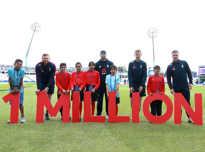 One Million Not Out - ICC Men's Cricket World Cup Helps to Inspire Future Generations of Players and Fans
