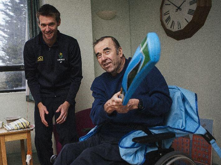 Clock Cricket proves a big hit for hospital patients