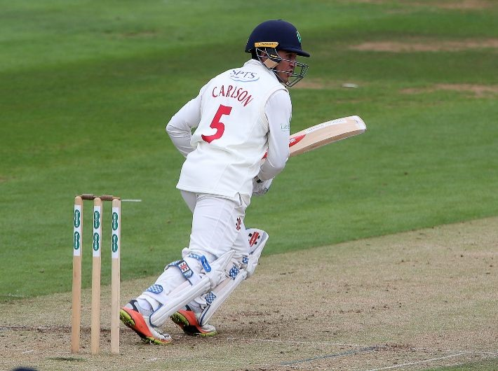 Glamorgan players support