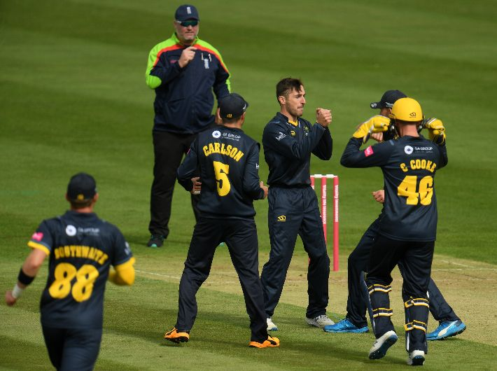 Cooke and Salter react to victory at Gloucestershire