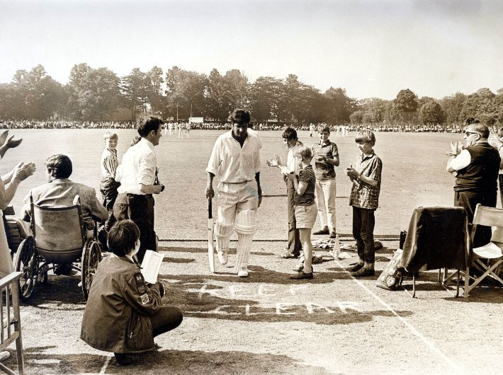 Glamorgan partner with the Sporting Memories Network