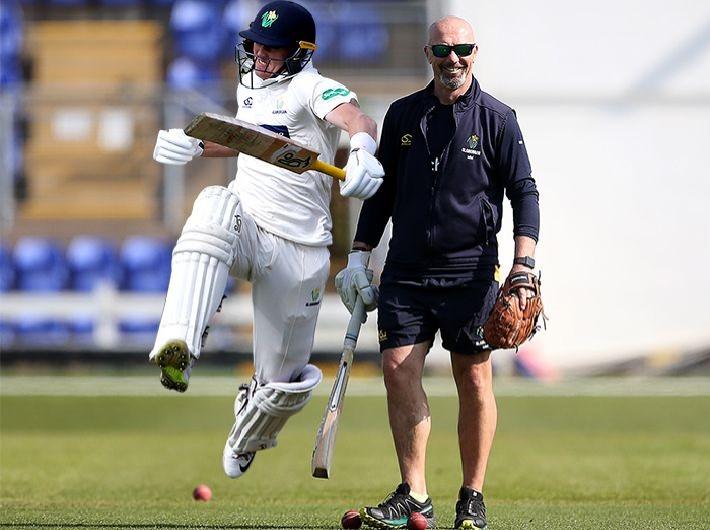 He's a proper cricket badger - Maynard