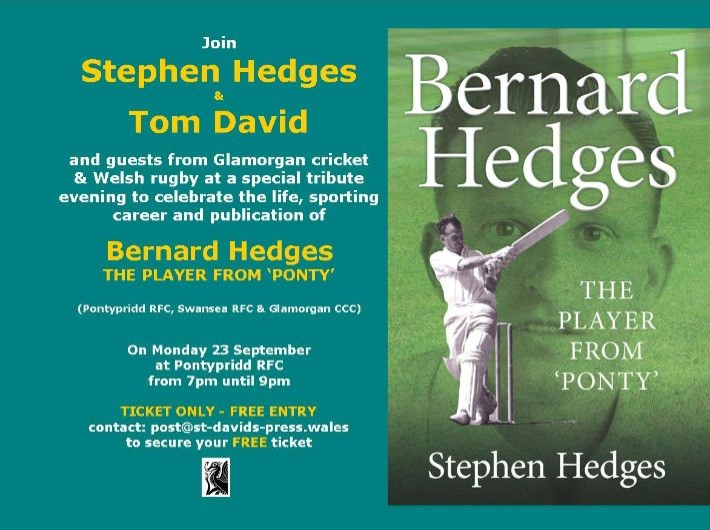 'The Player from Ponty' book launch