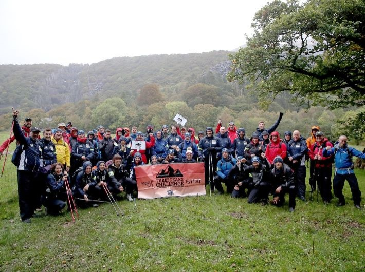 Three Peaks Challenge conquered for cricket charities